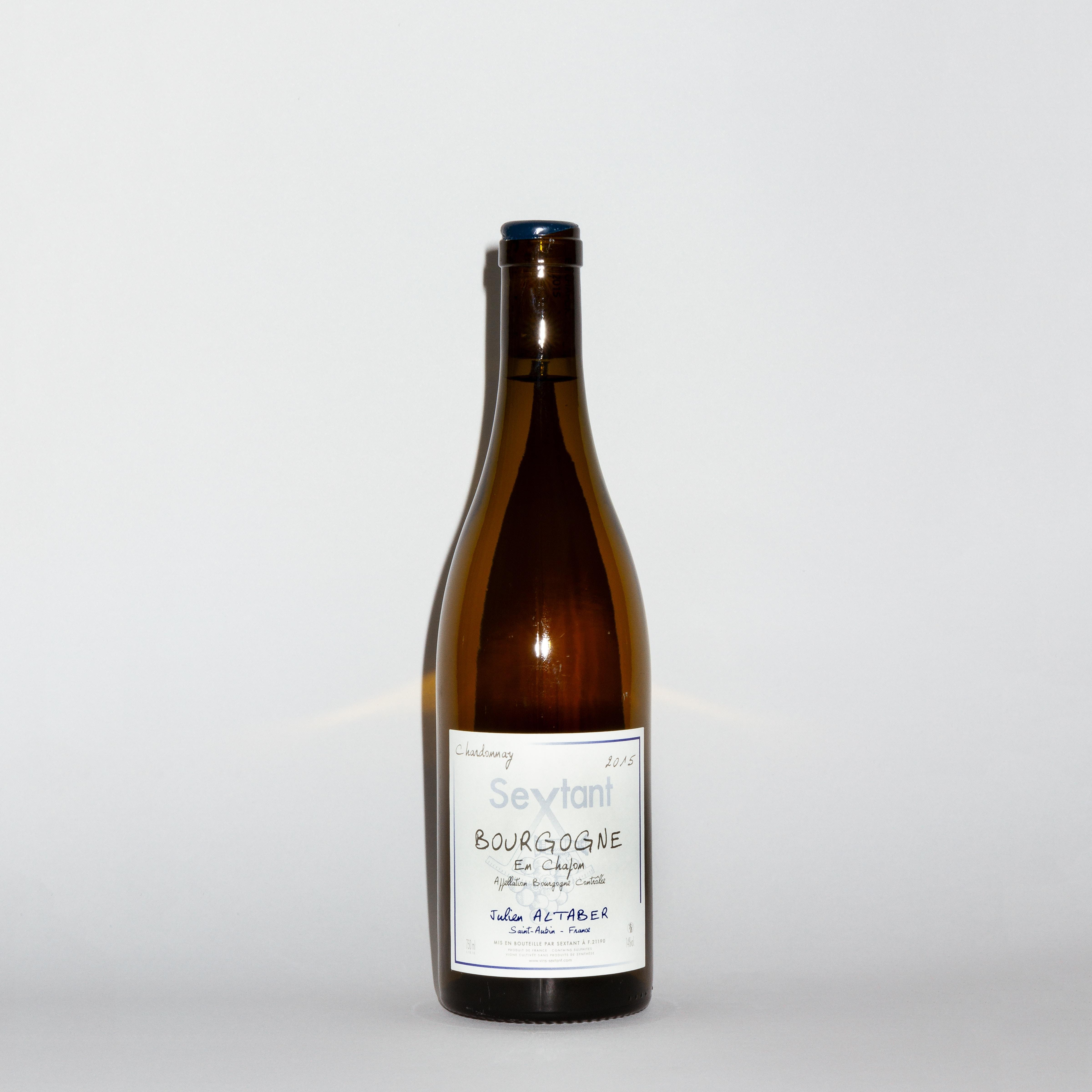 Bourgogne Blanc 'En Chapon' 2015 by Sextant Julien Altaber