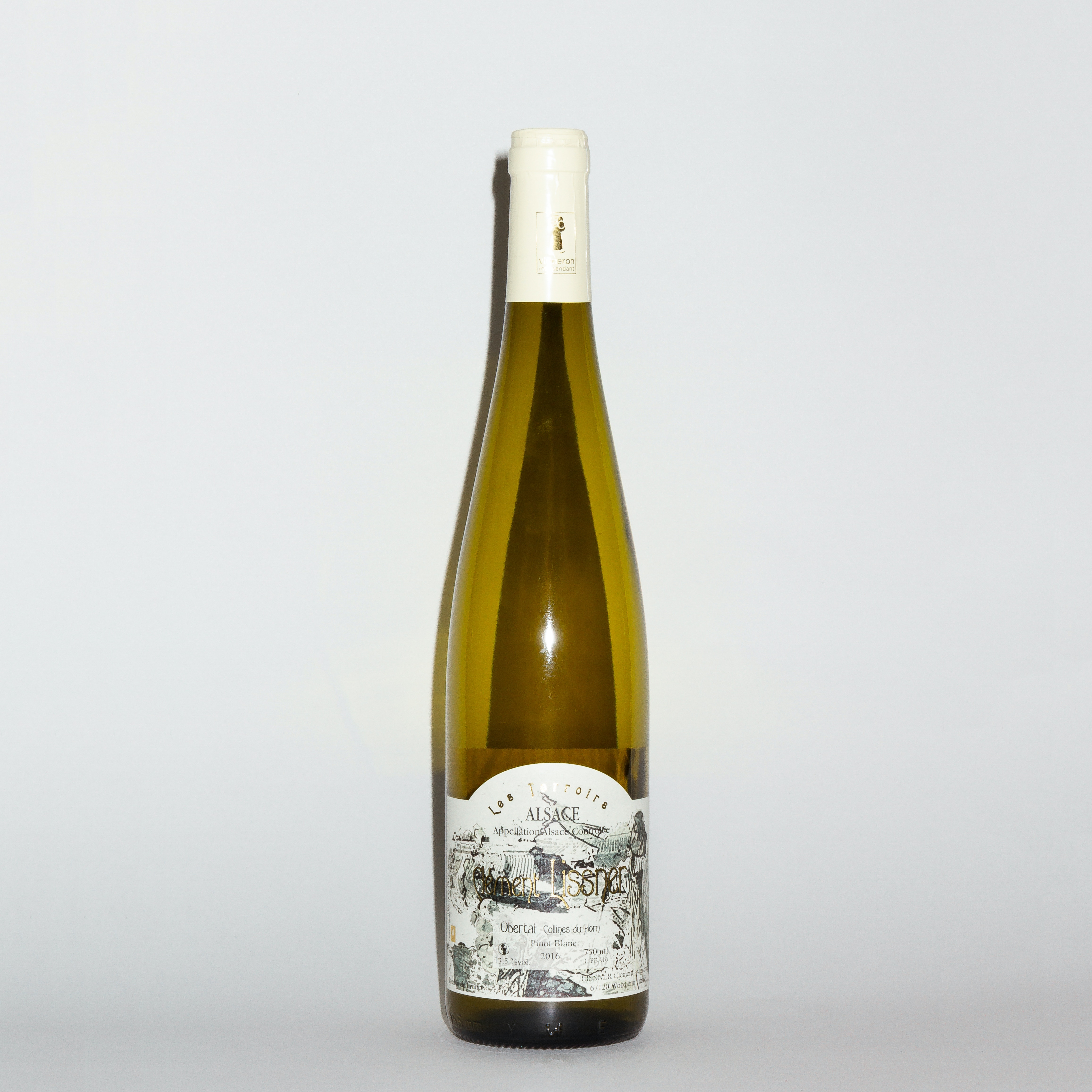 Obertal Collines du Horn Pinot Blanc 2016 by Domaine Clément Lissner
