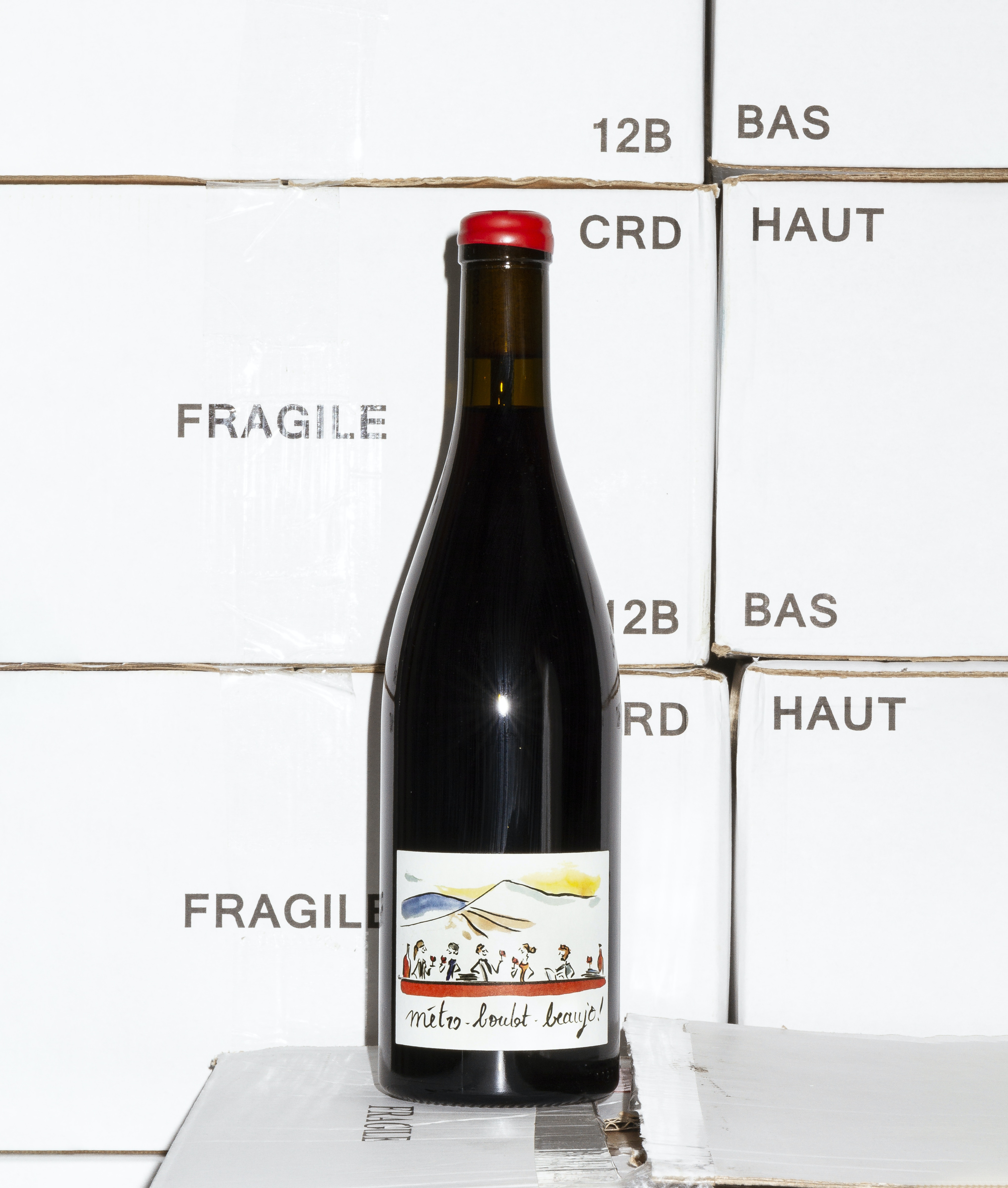 Metro - Boulot - Beaujo 2019 by Domaine des Canailles