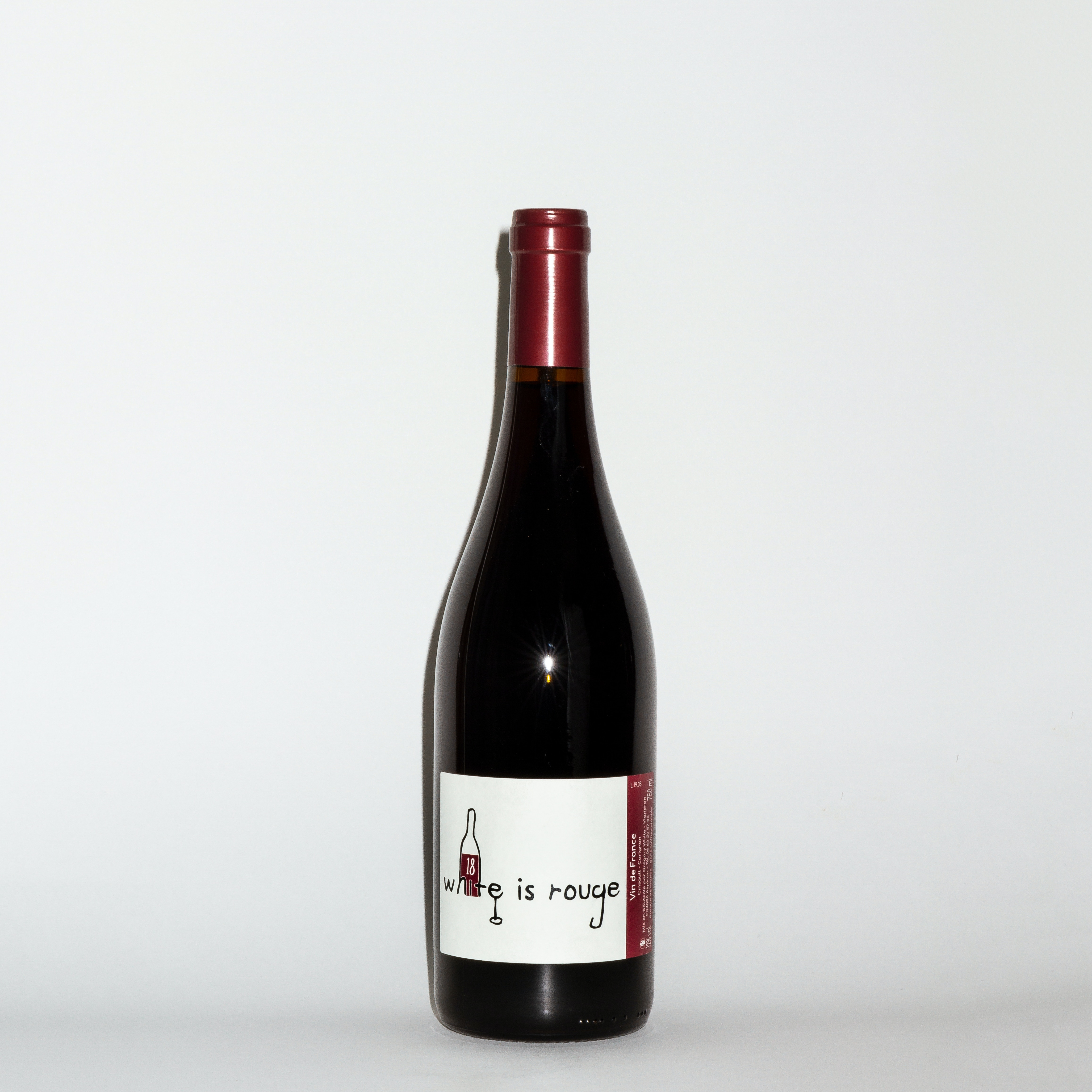 White is Rouge  2018 by Domaine Gregory White